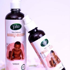 Toke baby liquid bath soap